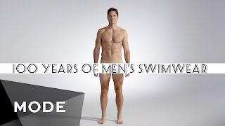 getlinkyoutube.com-100 Years of Fashion: Men's Swimwear ★ Mode.com