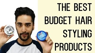 getlinkyoutube.com-The Best Budget Hair Styling Products For Men Tried And Tested! (Men's Hair) ✖ James Welsh