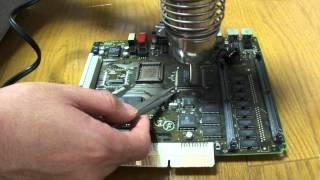 getlinkyoutube.com-ヒートガン(ホットガン)による部品の取り外し(desoldering by heat-gun)