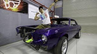 getlinkyoutube.com-Mustang Drift Bitch Schlampen Projekt Update/ Kompressorerklaerung - Simon MotorSport - Folge 40