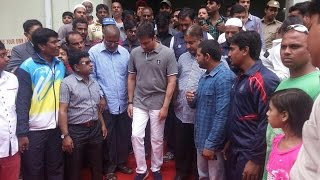 getlinkyoutube.com-Akbaruddin Owaisi inaugurates unique Warm Water Swimming Pool in Old City Hyderabad