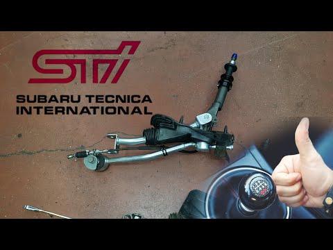 Установка короткоходной кулисы STI Quick Short Throw Shifter installation on Subaru Legacy SpecB 3.0