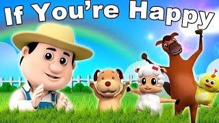getlinkyoutube.com-se você está feliz rima | compilação de canções infantis | coleta de rimas