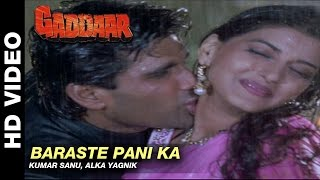 getlinkyoutube.com-Barste Pani Ka - Gaddaar | Alka Yagnik |  Sunil Shetty & Sonali Bendre