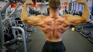 getlinkyoutube.com-Jason Poston's Back Workout 4 Weeks Out from The 2016 Olympia
