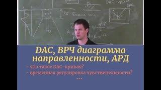 #УК_DAC, ВРЧ диаграмма направленности, АРД