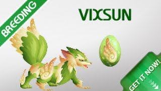 getlinkyoutube.com-Get Vixsun Monster By Breeding In Monster Legends