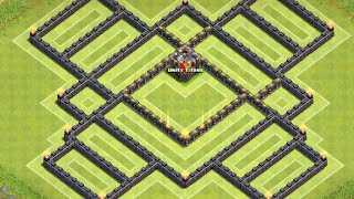 getlinkyoutube.com-Clash of Clans: NEW TH10 Farming Base with Unlureable CC  and DE Protection! | Spring Edition
