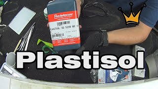 getlinkyoutube.com-Como fazer Isca Artificial  Caseira com Plastisol - Soft Plastic Fishing Lures,