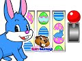 Easter Egg Game | Kids Fun Slot Machine Learning Video Game | Learn Counting Numbers 123