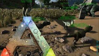 getlinkyoutube.com-ARK Survival Evolved Gameplay: Baby Carno... TRIPLETS!?!?!!! [Ep 75]