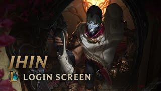 Jhin, the Virtuoso   Login Screen - League of Legends
