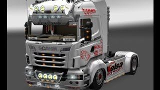 getlinkyoutube.com-ETS2 1.13.2s - Scania Race Truck Mod Ver 1 1