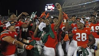 getlinkyoutube.com-Miami Hurricanes Highlights in Russell Athletic Bowl vs West Virginia