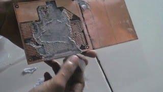 getlinkyoutube.com-Cetak PCB Menggunakan Kertas HVS dan Soffel