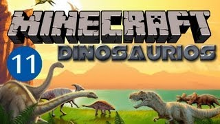 getlinkyoutube.com-Dinosaurios invadiendo Minecraft #11 - Patitofiero