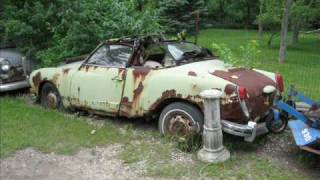 getlinkyoutube.com-cars rotting away at my grandparants