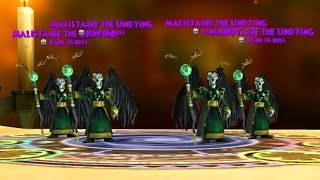 Wizard101: 4 SHADOW MALISTAIRES, 1 BATTLE!