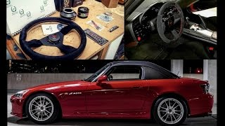 S2000 Steering Wheel and Quick Release Install - GQM Garage
