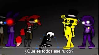 getlinkyoutube.com-Marionette Cries Parody sub español