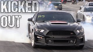 Screamin-Roush-Stage-3-Mustang-KICKED-OUT-of-Track-for-Going-Too-Fast width=