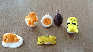 getlinkyoutube.com-Gudetama Sanrio  charms clay tutorial 蛋黃哥(梳乎蛋)黏土教學