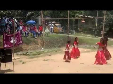 Nagada Sang Dhol Dance Performance by Sri Lankan Kids - Ram-leela