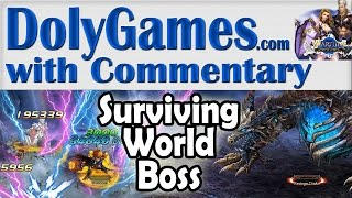 getlinkyoutube.com-➜ Wartune Surviving WORLD BOSS with my Knight - Greatly Increased Income
