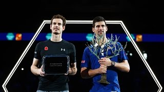 2015 BNP Paribas Masters Paris Final - Djokovic v Murray