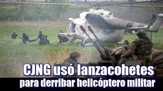 getlinkyoutube.com-CJNG usó  lanzacohetes para derribar helicóptero militar