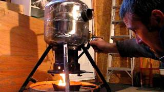 getlinkyoutube.com-Waste oil heater. Pat's