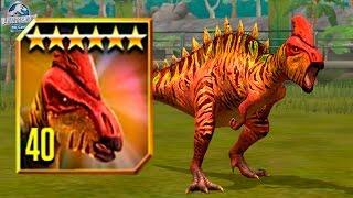 getlinkyoutube.com-ZALMOXES MAX LEVEL 40! - Jurassic World The Game - *TOURNAMENT DINO* HD
