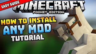getlinkyoutube.com-HOW TO INSTALL MODS in MCPE!!! - Simple Installing Guide - Minecraft PE (Pocket Edition)