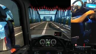 getlinkyoutube.com-Ets2 Scania R730 V8 Sound  Logitech G27