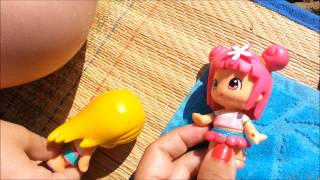 Juguetes de pin y pon en la playa