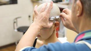 getlinkyoutube.com-Japanese women to the skin head ch05 pv02