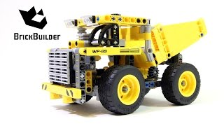 getlinkyoutube.com-Lego Technic 42035 Mining Truck - Lego Speed build