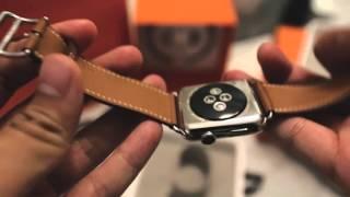 getlinkyoutube.com-Hermes Apple Watch Unboxing 4K