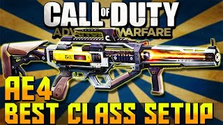 getlinkyoutube.com-Call of Duty Advanced Warfare: Best AE4 Class Setup! - (Call of Duty Multiplayer Gameplay)