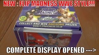 getlinkyoutube.com-BRAND NEW! ☆ WWE FLIP MADNESS ☆ COMPLETE DISPLAY UNBOXING