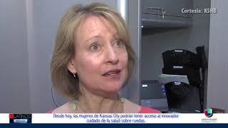 Las mujeres de Kansas City accederán a un scanner de mamas móvil para prevenir el Cáncer