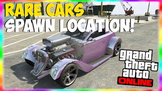 "getlinkyoutube.com-GTA 5 Rare Cars Spawn Location: Fully Customized Rare Car Spawn Location! ""GTA 5 Rare Cars"" Xbox One"