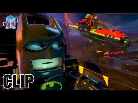 LEGO BATMAN The Movie DC Superheroes Unite Official Batman & Robin Clip
