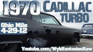 1970 Cadillac Turbo ECTA Wilmington Ohio Mile 4-29-12