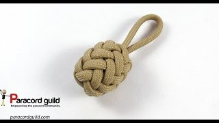 getlinkyoutube.com-Herringbone knot paracord key fob