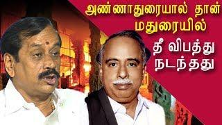 h.raja on the true reason for madurai meenakshi amman temple fire tamil news, tamil live news redpix