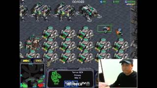 getlinkyoutube.com-테란(Terran) 1:1 빨무 고수와의 제 1경기! Fastest Maps in StarCraft Brood War (1vs1)