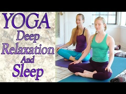 Beginners Yoga For Deep Relaxation, Sleep, Insomnia, Anxiety