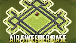 getlinkyoutube.com-CLASH OF CLANS NEW TOWN HALL 7 AIR SWEEPER WAR BASE | TH7 WAR BASE w/ AIR SWEEPER 2015!!!