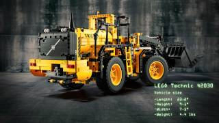 getlinkyoutube.com-LEGO Technic Introduces the Volvo Wheel Loader and Articulated Hauler